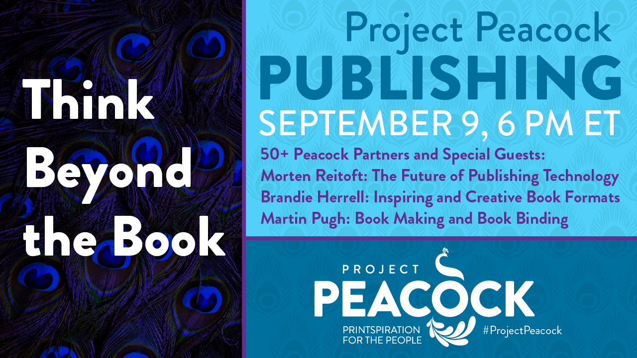 online event about publishing and creative book making